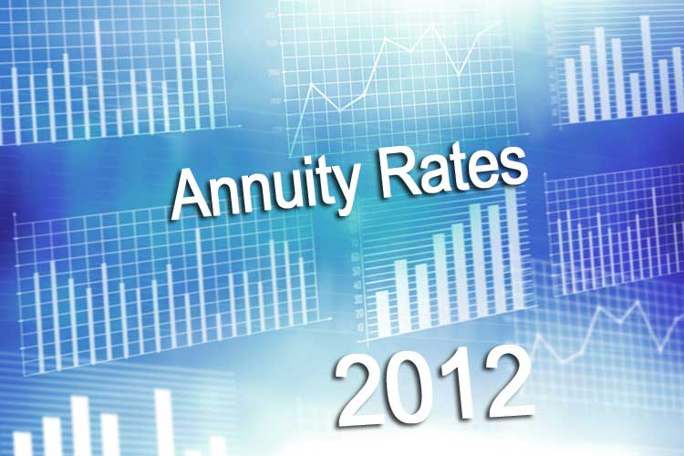 2012 annuity rates