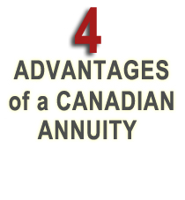 4 advatages of a canadian annuity