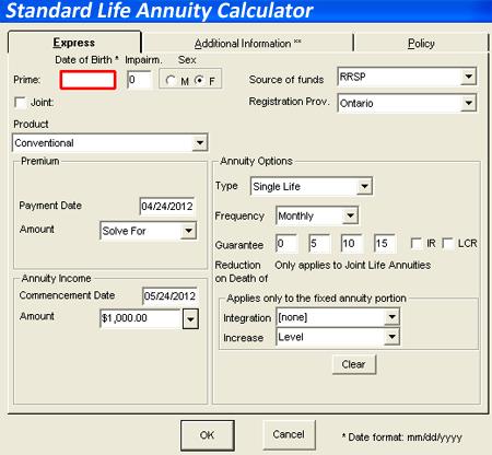 Standardchartered retirement calculator ontario parks