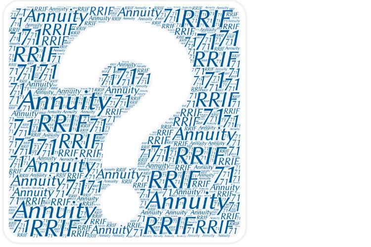 rrif or annuity at 71