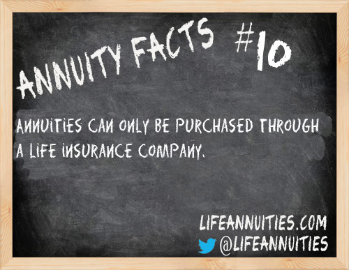 Annuity Facts #10