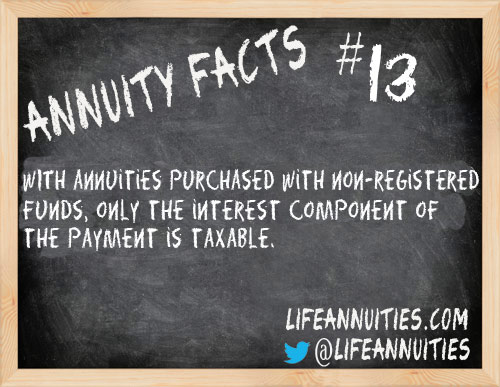Annuity Facts #13