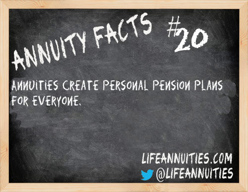 Annuity Facts #20