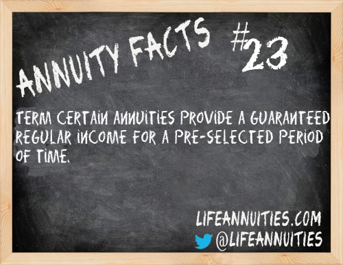 annuity facts 23