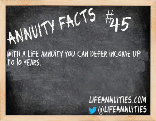 annuity facts 45