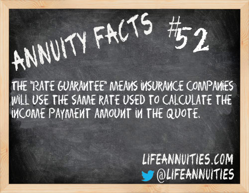 Annuity Facts # 52
