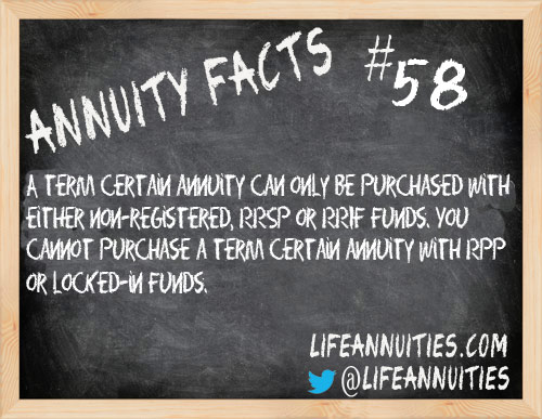 annuity facts 58