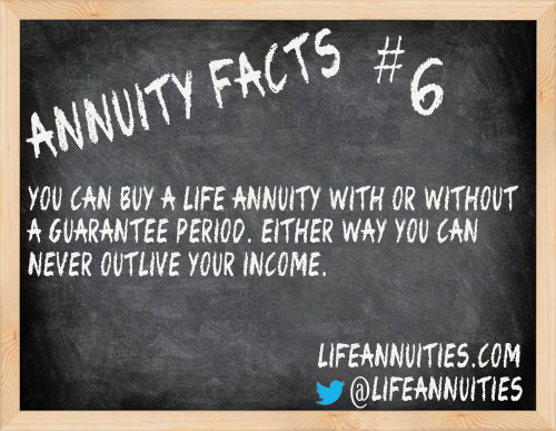 Annuity Facts #6