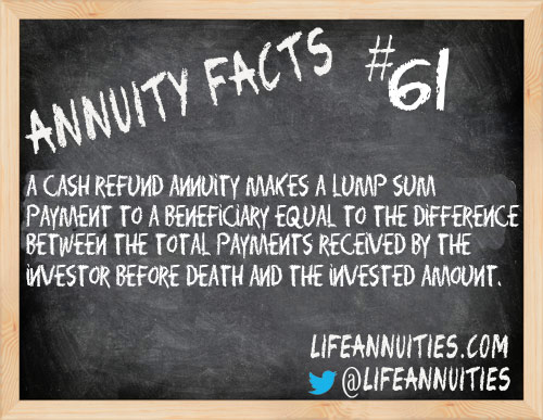 Annuity Facts #61