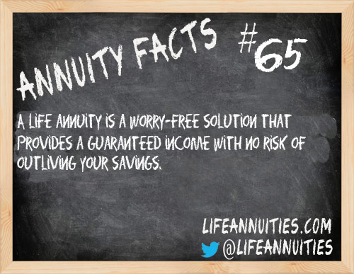 annuity facts 65