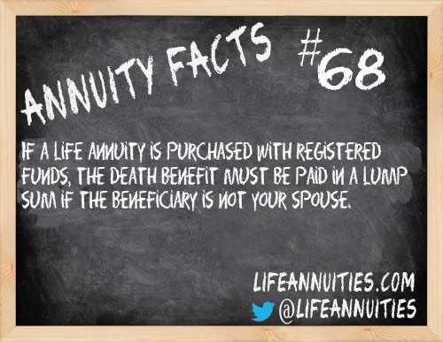 annuity facts 68