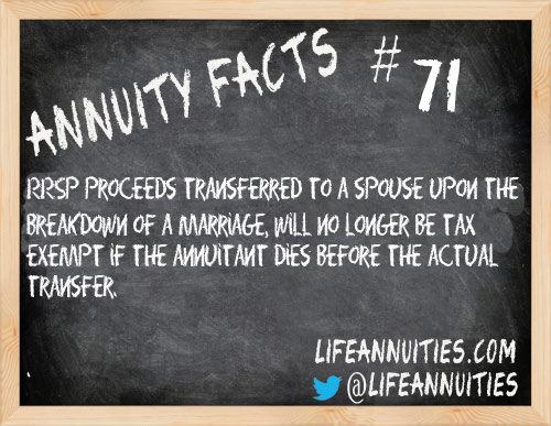 Annuity Facts #71