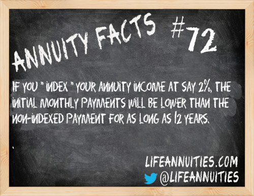 Annuity Facts #72