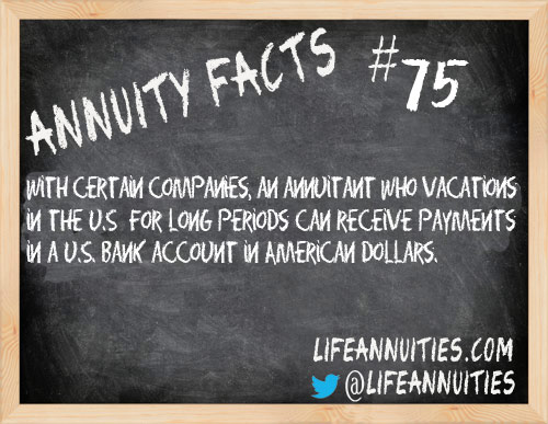 annuity facts 75
