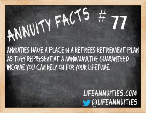 annuity facts 77