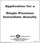 BMO Annuity Application