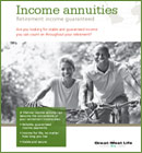 great west life Annuity Application