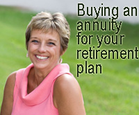 buying annuity for retirement plan