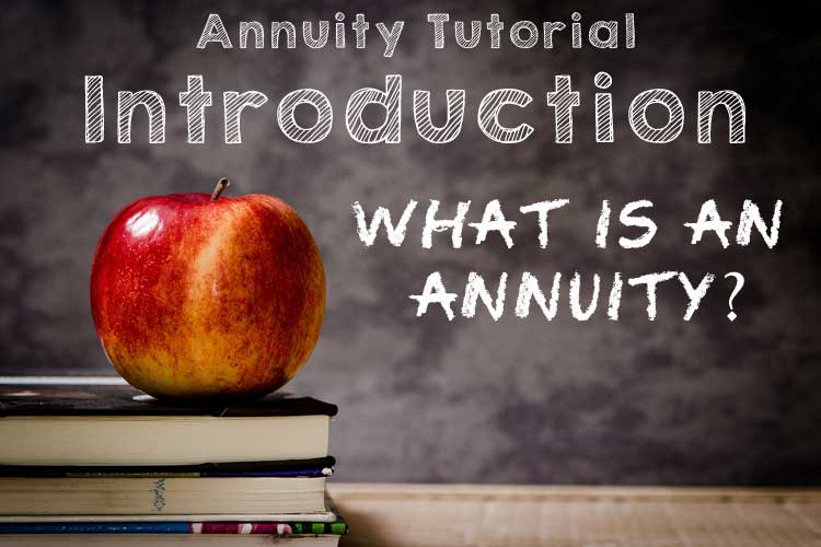 introduction what is an annuity