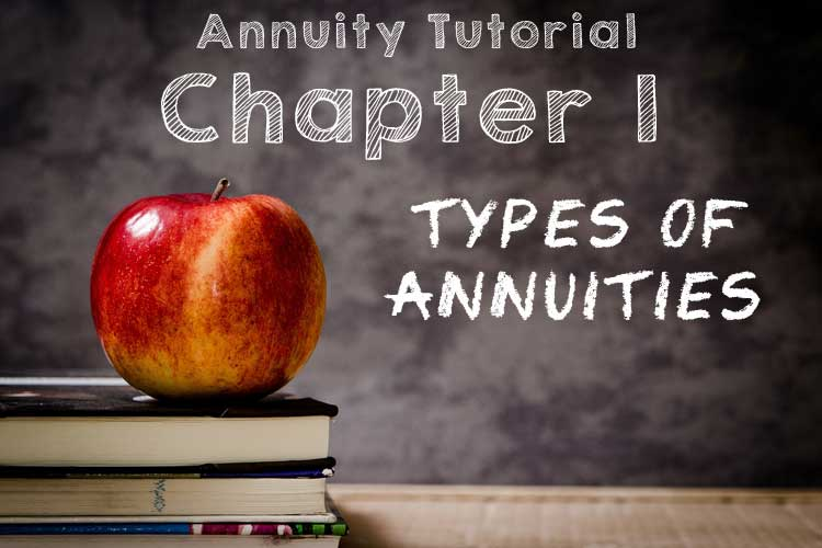 chapter 1 types of annuities