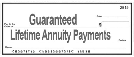 Guaranteed Lifetime Annuity Payments