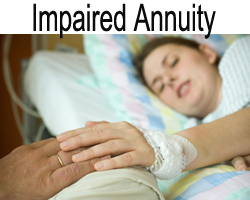enhanced impaired annuityannuity