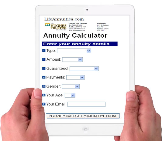 online annuity calculator