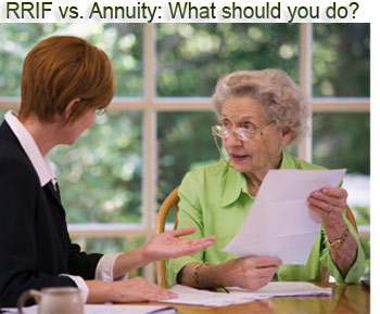 rrif vs annuity: what should you do