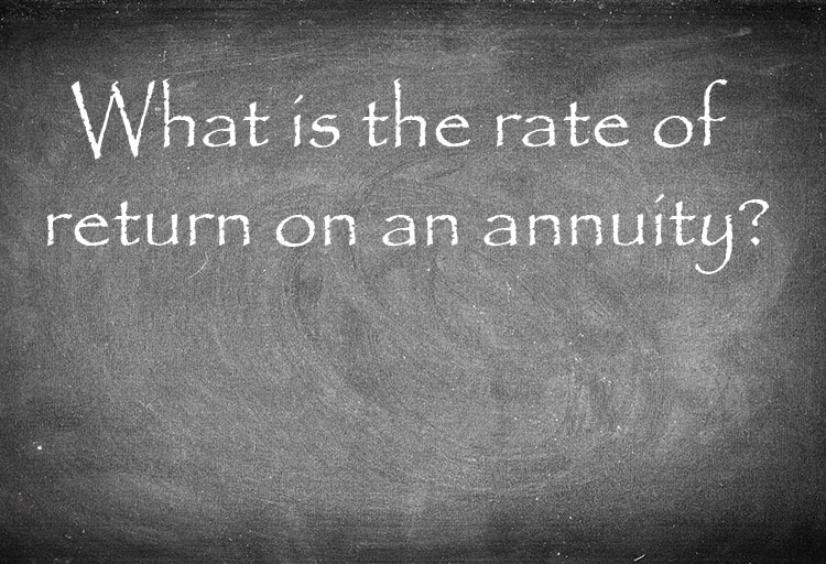 what is the rate of return on an annuity