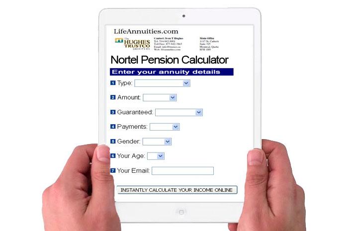 ipad-nortel-pension-calculator