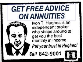 Independent Annuity Broker Ivon T. Hughes